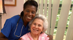 Elderly care home care managers